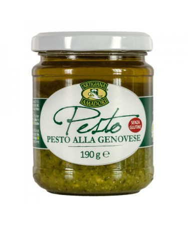 Pesto alla Genovese with Genovese Basil PDO