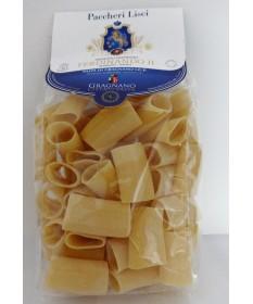 Pasta di Gragnano IGP-Artigianale-Paccheri lisci